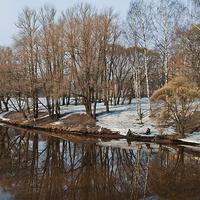 Река Большая Охта