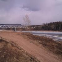 Мост Жд. через Лену Усть-Кут