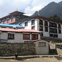 Главный высокогорный монастырь шерпов.
