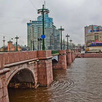 Вид с Сампсониевского моста
