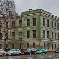 Улица Академика Лебедева. Корпус ВМА.