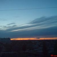 Вид из окна на мкр-н Кедровая роща