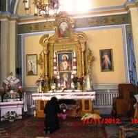 внутрішній інтерєр церкви Благовіщення Пречистої Діви Марії