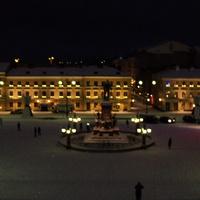 Хельсинки.Сенатская площадь