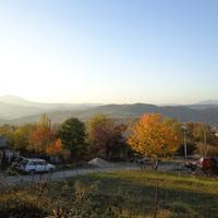 вид на гору Ахун из Каменки