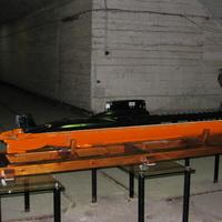 Макет подводной лодки в музее