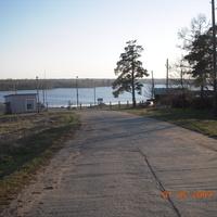 Дорога к водохранилищу