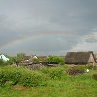 Радуга над Черленково