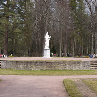 В Павловском парке.
