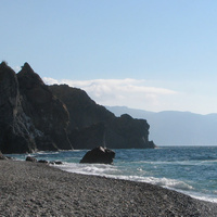 Вид с пляжа