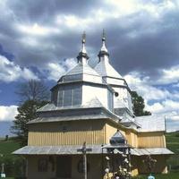 Хащованя. Церква св.Івана Хрестителя