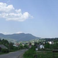 Панорама смт. Славська