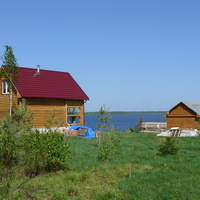 д. Комарово, новый дом дачников