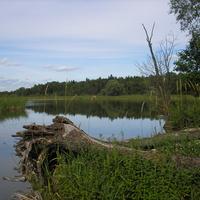 Озеро Дрывяты возле Ахремовцев
