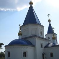 Церковь в деревне Меретяки