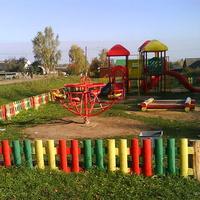 Детская площадка в Титовке