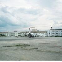 Якутск, аэропорт 1995 г.