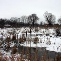 Городенка зимой