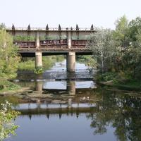 Плотина на реке Еруслан