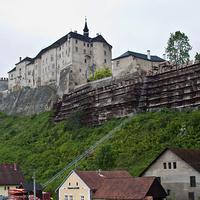 Вид на замок Штернберк