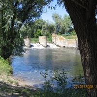 ГЭС, между Терновой и Дегтевым
