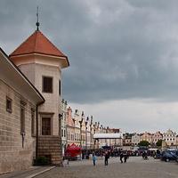 Вид на площадь Захариаша от замка