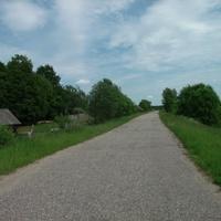 Дорога в Тельцово