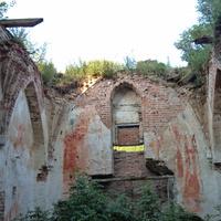 Кирха в селе Кумачево 14 века.