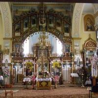 с.Ратищі. Свято-Успенський храм . Внутрішній інтерєр