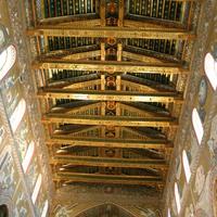 Восстановленный после пожара 1811 года фатимидский потолок собора