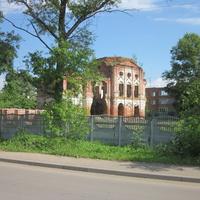 Разрушенный храм св. Леонтия, ул.Коммунаров.