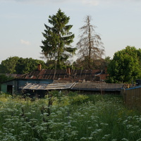 Дома в деревне Старое