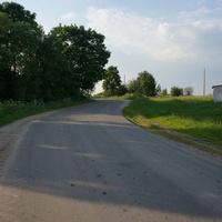 Старое, дорога на Голочелово