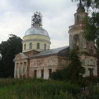 Церковь напротив д.Пищулино