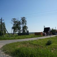 Строительный рынок у дороги
