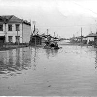 Наводнение в пос. Зырянка, 1963 г.