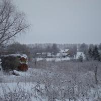 зима в Верейкино