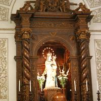 В церкви при монастыре Капуцинов