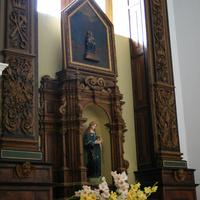 В церкви при монастыре Капуцинов (рядом с катакомбами)