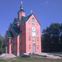смт Михайло-Коцюбинське. Церква