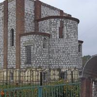 В Мирном строится храм в честь Собора Одесских Святых.