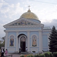 Современный вид Усатовской церкви Рождества Пресвятой Богородицы