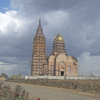 В селе Великий Дальник строится храм в честь Святого Великомученика Георгия Победоносца