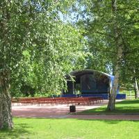 Городской парк. Концертная площадка.