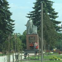 Памятник учасникам ВОВ  1941-1945