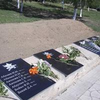 Могилы солдат Красной армии