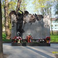 Памятник ликвидаторам последствий атомных катастроф