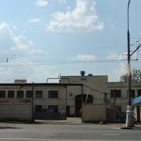 Гараж 1934 года постройки  Люблинский Литейно-Механический завод Москва, Люблинская улица дом 72