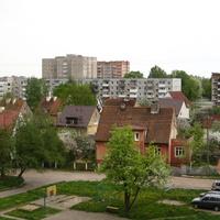 вид из окна квартиры на ул Жилинской