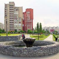 Фонтан в м-не Восточный (новый город)